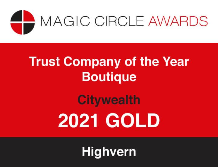 Magic Circle Awards - Trust Company of the Year 2021