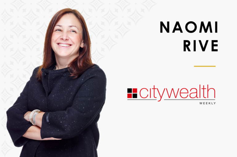 Citywealth – 60 second interview with Naomi Rive