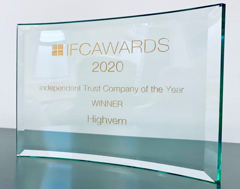 Highvern named Independent Trust Company of the Year