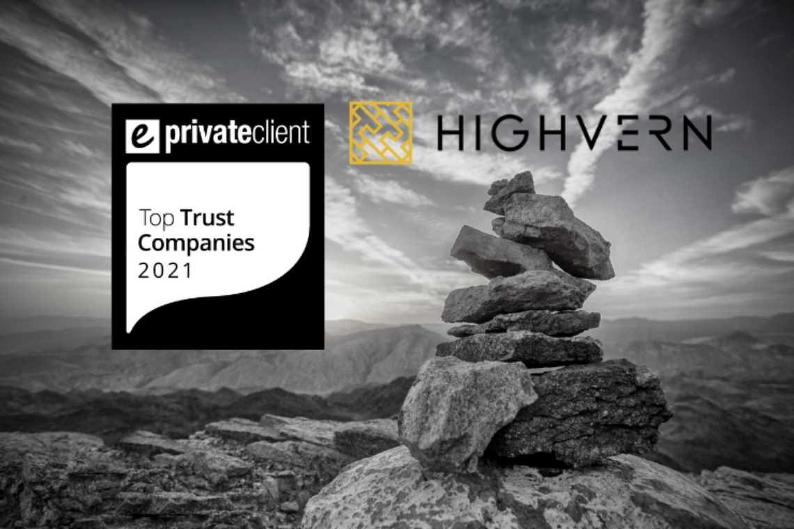 Highvern listed in eprivateclient's Top Trust Companies for 2021