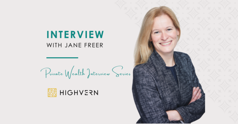 Interview with Jane Freer
