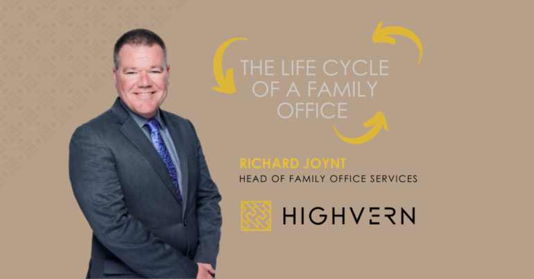 The Life Cycle of a Family Office