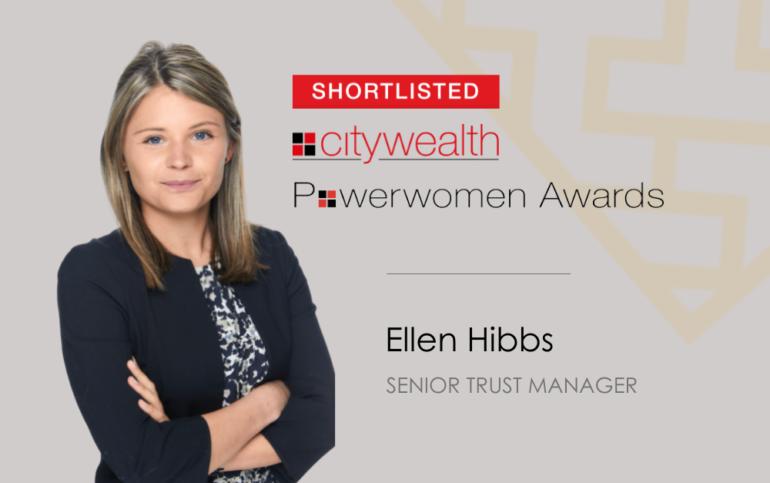 Ellen Hibbs shortlisted for Powerwomen Awards