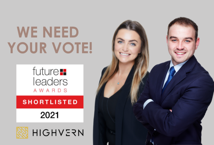 Highvern duo shortlisted for Citywealth Future Leaders Awards 2021