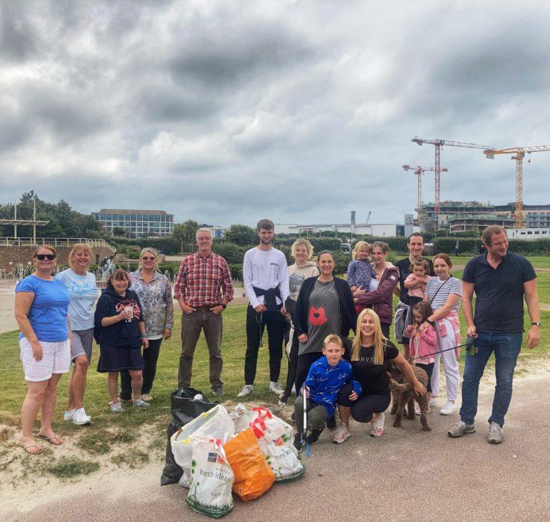 Highvern Beach Clean